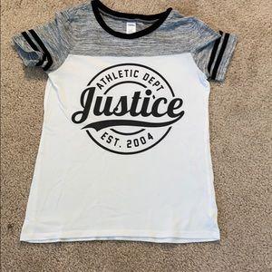 justice logo tee